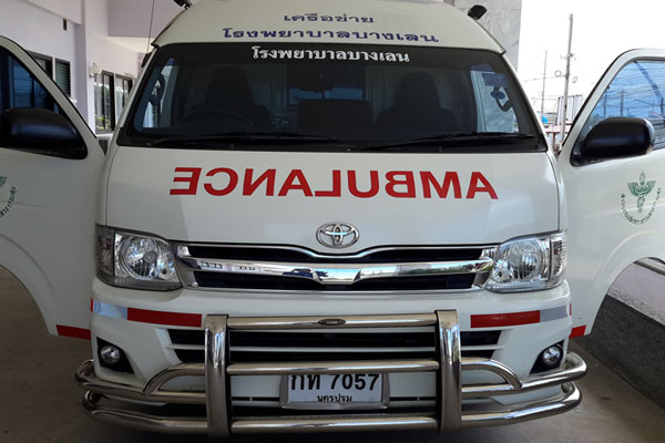 gps Ambulance รถพยาบาล โรงพยาบาลชั้นนำเลือกใช้